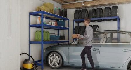 Nejlepší nápady, které můžete využít při skladování věcí v garáži