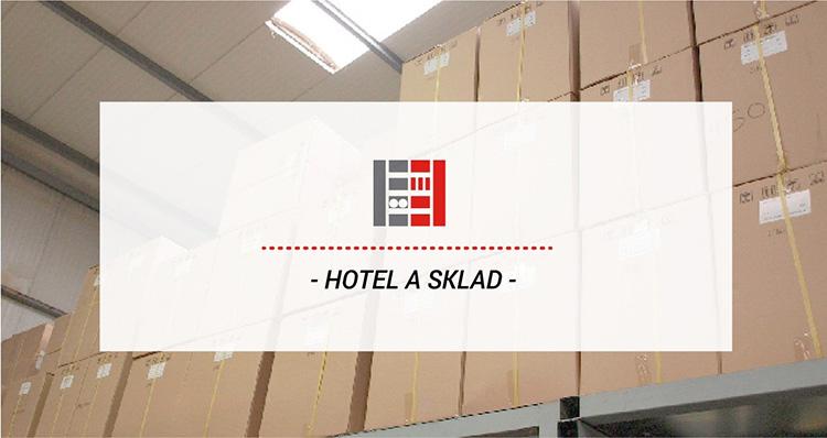 Kovové regály ve skladech pro hotelový průmysl