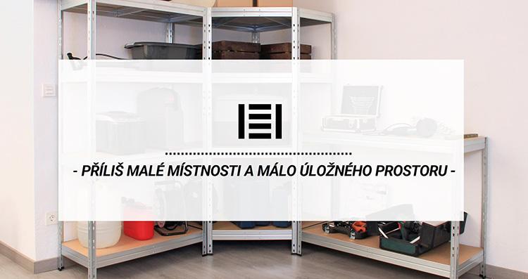 Příliš malé místnosti a málo úložného prostoru? | Majster Regál