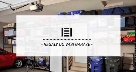 Kovové regály do Vaší garáže